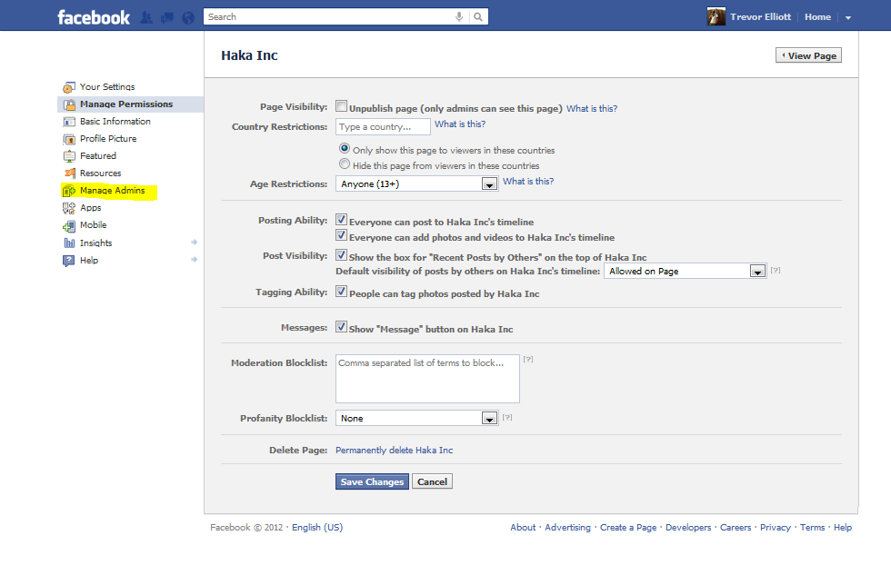 how to add more admin on facebook page